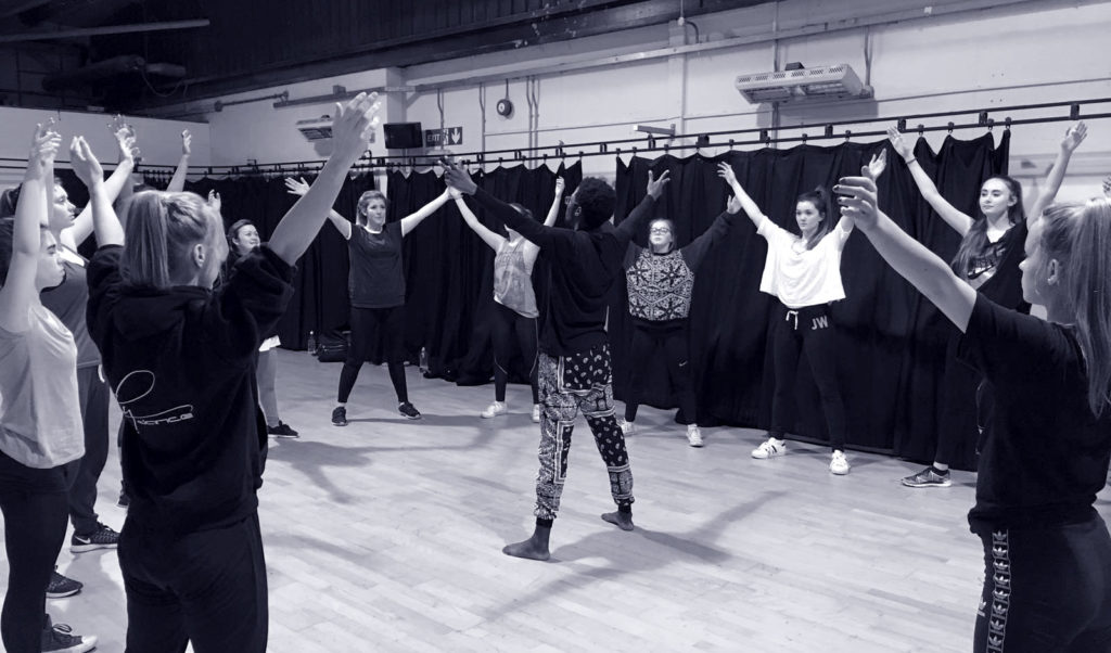 Dance sessions with local mental health charity Oxfordshire MIND
